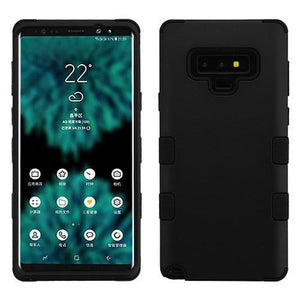 AMZER® TUFFEN Hybrid Protector Cover - Black/Black for Samsung Galaxy Note9