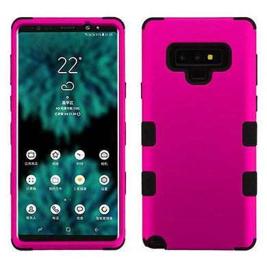 AMZER® TUFFEN Hybrid Protector Cover -Hot Pink/Black for Samsung Galaxy Note9