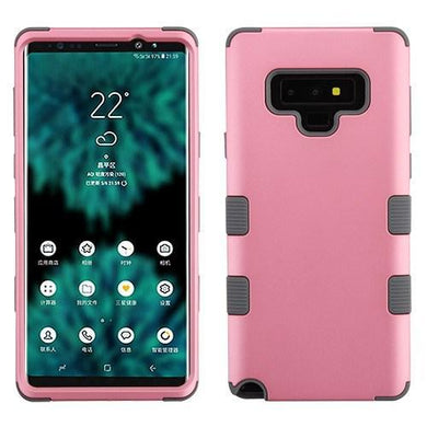AMZER® TUFFEN Hybrid Protector Cover - Pink/Gray for Samsung Galaxy Note9