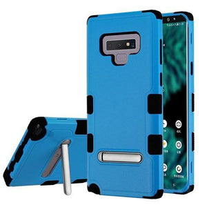 AMZER® TUFFEN Hybrid Protector Cover With Magnetic Metal Stand - Black/Blue for Samsung Galaxy Note9