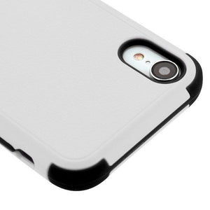 AMZER® TUFFEN Hybrid Protector Cover With Magnetic Metal Stand - Gray/Black for iPhone Xr