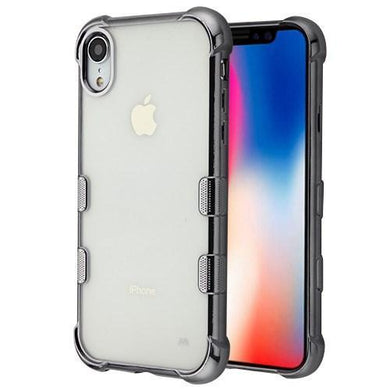 AMZER® TUFFEN Candy TPU Skin Cover -Grey for iPhone Xr
