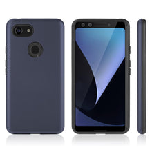 Load image into Gallery viewer, AMZER® Hybrid Dual Layer Slim Case - Blue for Google Pixel 3