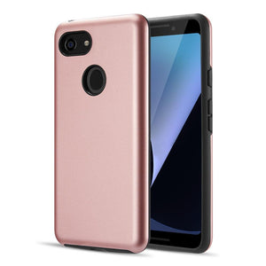 AMZER® Hybrid Dual Layer Slim Case - Pink for Google Pixel 3
