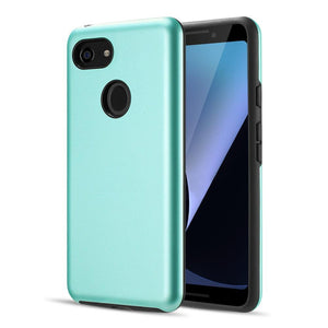 AMZER® Hybrid Dual Layer Slim Case - Teal for Google Pixel 3