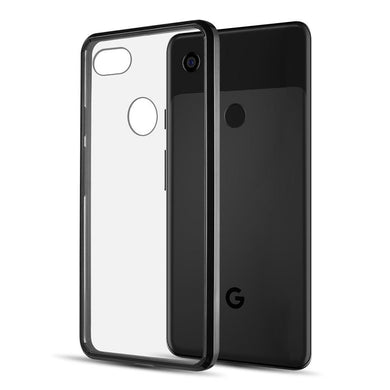 AMZER® SlimGrip Hybrid Case - Black for Google Pixel 3