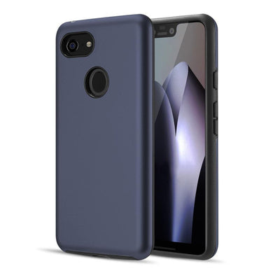 AMZER® Hybrid Dual Layer Slim Case - Blue for Google Pixel 3 XL
