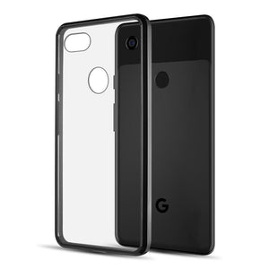 AMZER® SlimGrip Hybrid Case - Black for Google Pixel 3 XL