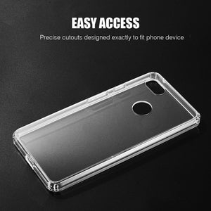 AMZER® SlimGrip Hybrid Case - Clear for Google Pixel 3 XL