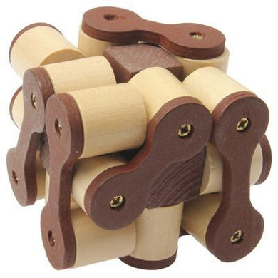 Wooden Adult Educational Toys Recreational Toys Chain Magic Cube