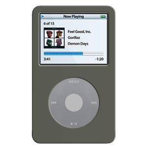 AMZER Black Skin for iPod Video 60GB