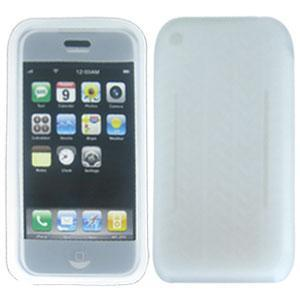 AMZER Silicone Gel Case Clear for iPhone