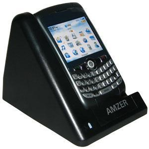 AMZER Desktop Cradle with Extra Battery Charging Slot for BlackBerry 8300