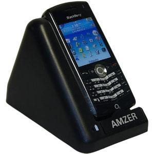 AMZER Desktop Cradle with Extra Battery Charging Slot for BlackBerry 8110