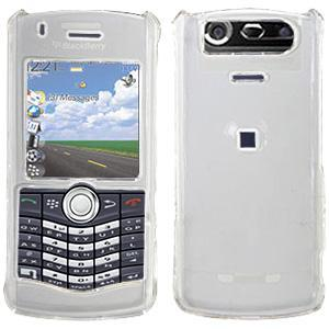 AMZER Clear Snap On Crystal Hard Case for BlackBerry 8110