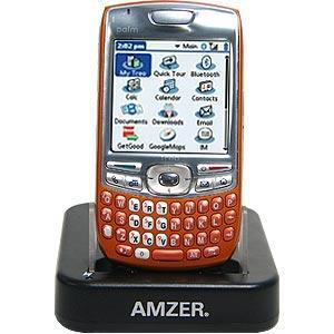 AMZER Desktop Cradle with Extra Battery Charging Slot for Treo 680