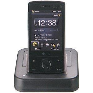 AMZER Desktop Cradle with Extra Battery Charging Slot for HTC Touch Diamond