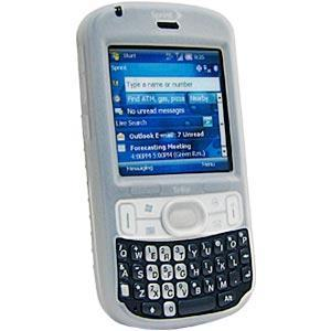 AMZER Shockproof Rugged Silicone Skin Jelly Casefor Treo 800w - Clear