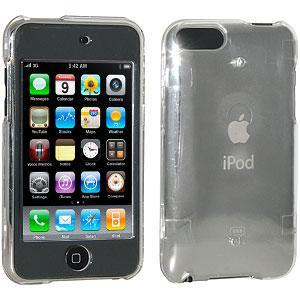 AMZER Clear Snap On Crystal Hard Case for iPod Touch 2G