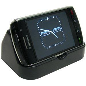 AMZER Deluxe Desktop Cradle with Extra Battery Charging Slot for BlackBerry Storm 9530