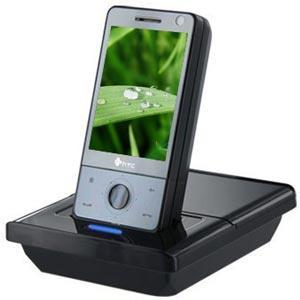 AMZER Deluxe Desktop Cradle with Extra Battery Charging Slot for HTC Fuze