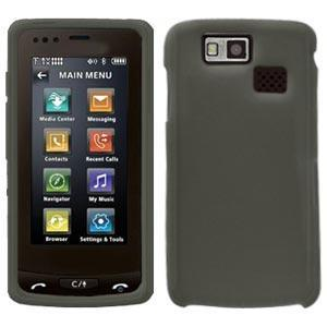 AMZER Silicone Skin Jelly Case for LG Versa LX9600 - Grey