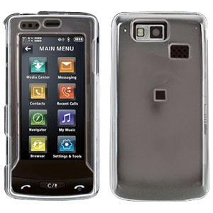 AMZER Clear Snap On Crystal Hard Case for LG Versa LX9600