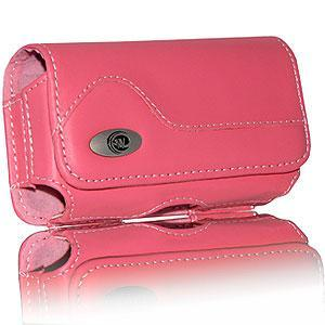 Warrington Pink Premium Mobile Horizontal Case for BlackBerry 8100