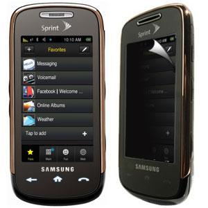 AMZER® Kristal™ Privacy Protector Shield for Samsung Instinct s30 SPH-M810