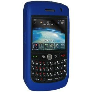 Amzer Silicone Skin Jelly Case - Blue for BlackBerry Curve 8900