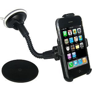 Amzer 8 inch Gooseneck Vehicle Mount for iPhone, iPhone 3G, iPhone 3G S