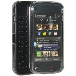 AMZER Clear Snap On Crystal Hard Case for Nokia N97