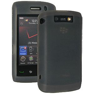 Amzer Silicone Skin Jelly Case - Smoke Grey for BlackBerry Storm 2 9520