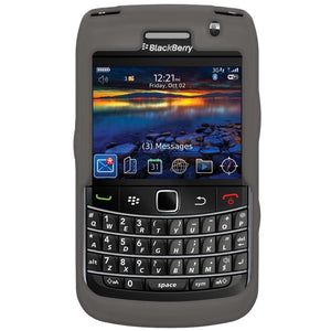 AMZER Silicone Skin Jelly Case for BlackBerry Bold 9700 - Grey
