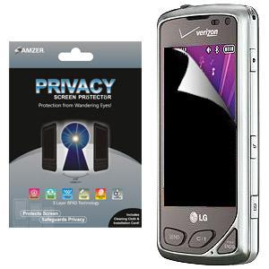 AMZER® Kristal™ Privacy Protector Shield for LG Chocolate Touch VX8575