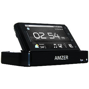 AMZER Desktop Cradle with Extra Battery Charging Slot for Motorola MILESTONE