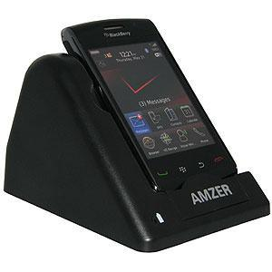 AMZER Desktop Cradle with Extra Battery Charging Slot for BlackBerry Storm 2 9550