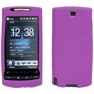 AMZER® Silicone Skin Jelly Case - Purple for HTC Pure