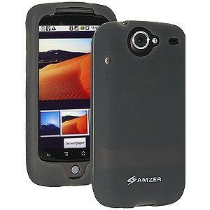 AMZER Silicone Skin Jelly Case for Google Nexus One PB99100 - Grey