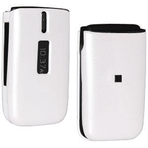 AMZER® Polished White Snap On Crystal Hard Case for Nokia 1606