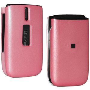 AMZER® Polished Pink Snap On Crystal Hard Case for Nokia 1606