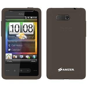 Amzer Silicone Skin Jelly Case - Grey for HTC HD Mini