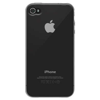 AMZER Soft Gel TPU Skin Case - Clear for iPhone 4