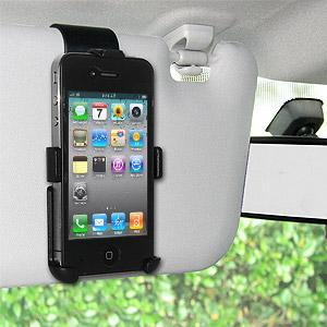 Amzer Sun Visor Mount for iPhone 4S, iPhone 4