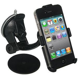Amzer Suction Cup Mount for Windshield, Dash or Console for iPhone 4S, iPhone 4