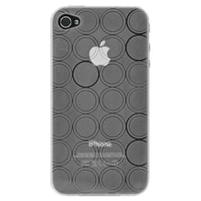 Load image into Gallery viewer, AMZER Circle TPU Skin Case - Clear for iPhone 4