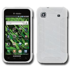 AMZER Silicone Skin Jelly Case for Samsung Galaxy S 4G SGH-T959V - Lilly White