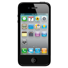 Load image into Gallery viewer, AMZER SlimGrip Hybrid Case - Cloudy/ Black for iPhone 4
