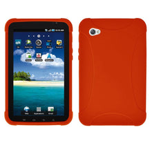 Load image into Gallery viewer, AMZER Silicone Skin Jelly Case for Samsung GALAXY Tab GT-P1000 - Orange