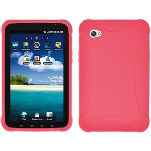 AMZER Skin Jelly Case for Samsung GALAXY Tab GT-P1000 - Baby Pink